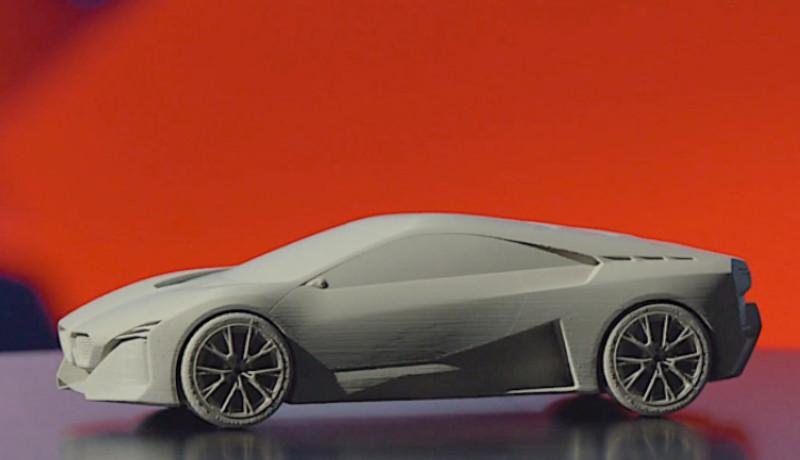 ¡Ya puedes imprimir tu propio coche deportivo BMW!