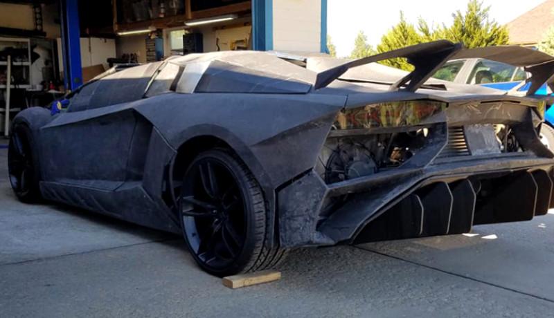 Tecnología 3D de BMW: Lamborghini impreso en Casa