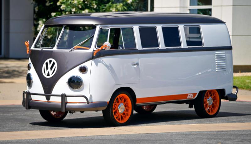 Versión renovada de la clásica furgoneta Volkswagen