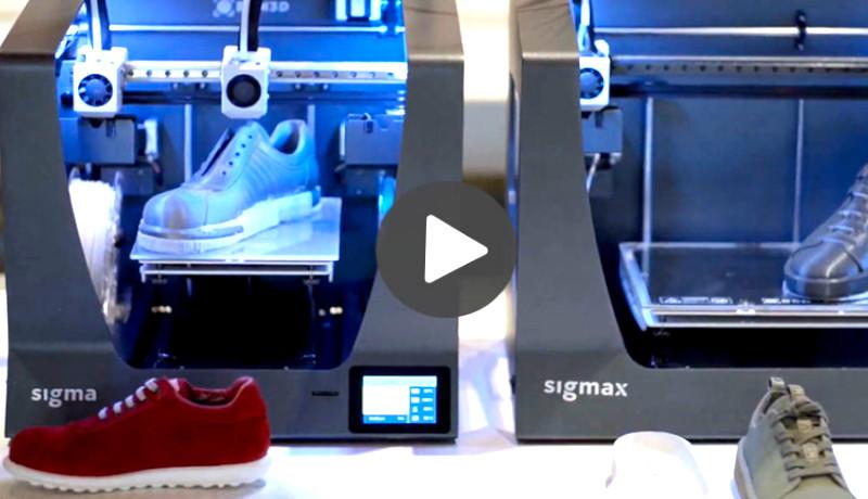 Tecnología 3D en Vídeo: Zapatos confortables con la impresión 3D