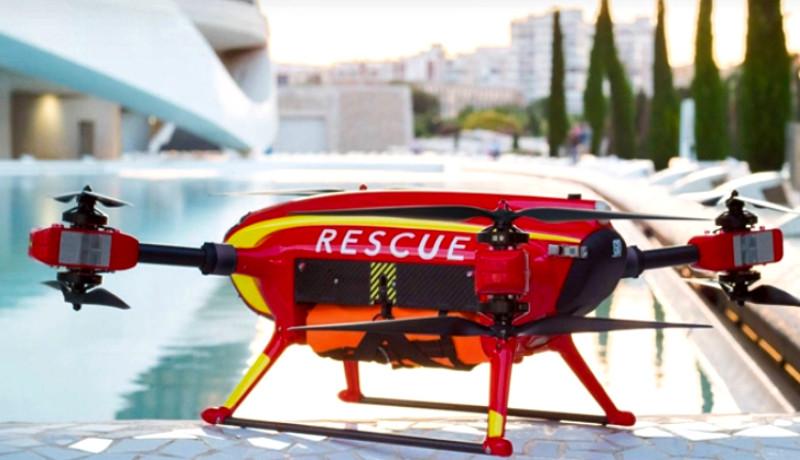 Drones impresos en 3D y la seguridad ciudadana