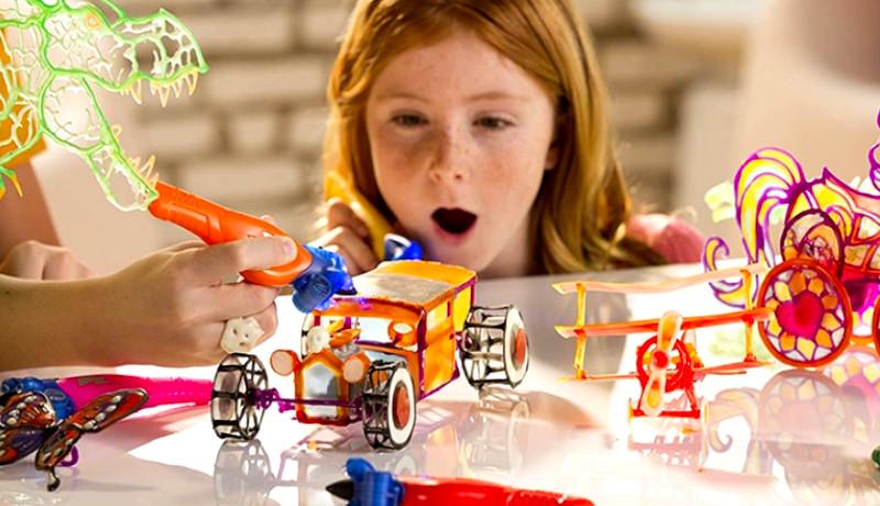 Lápices 3D… ¡Para los pequeños de la casa!