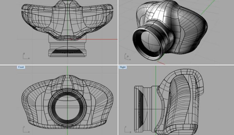 ¡Conoce a Rhinoceros! Un programa para modelado 3D